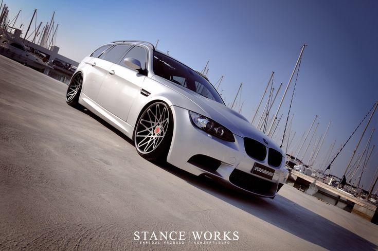 BMW E91 335i Touring in M3 skin  Moto  Pinterest  Beautiful