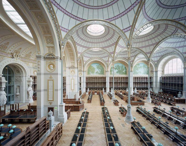 Labrouste ist wieder da - Bibliothèque Nationale in Paris von Bruno Gaudin restauriert