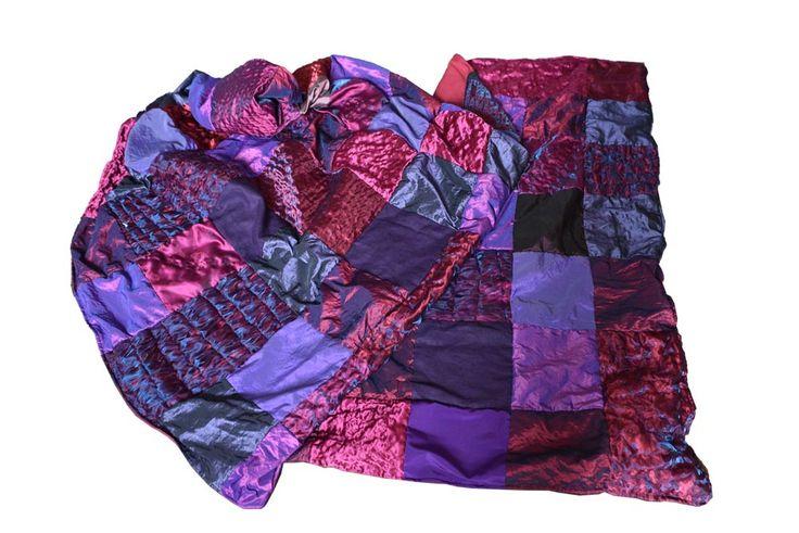 paars-rood foulard van AteleirMD.nl