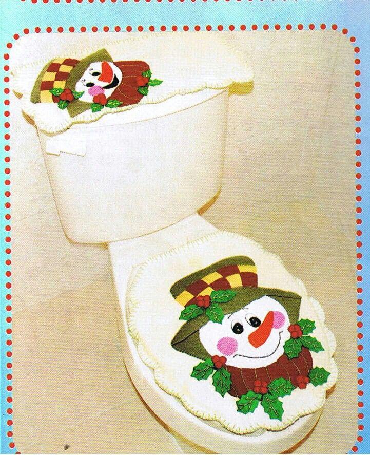 Juegos De Baño Muneco De Nieve:Juego De Bano Para Navidad