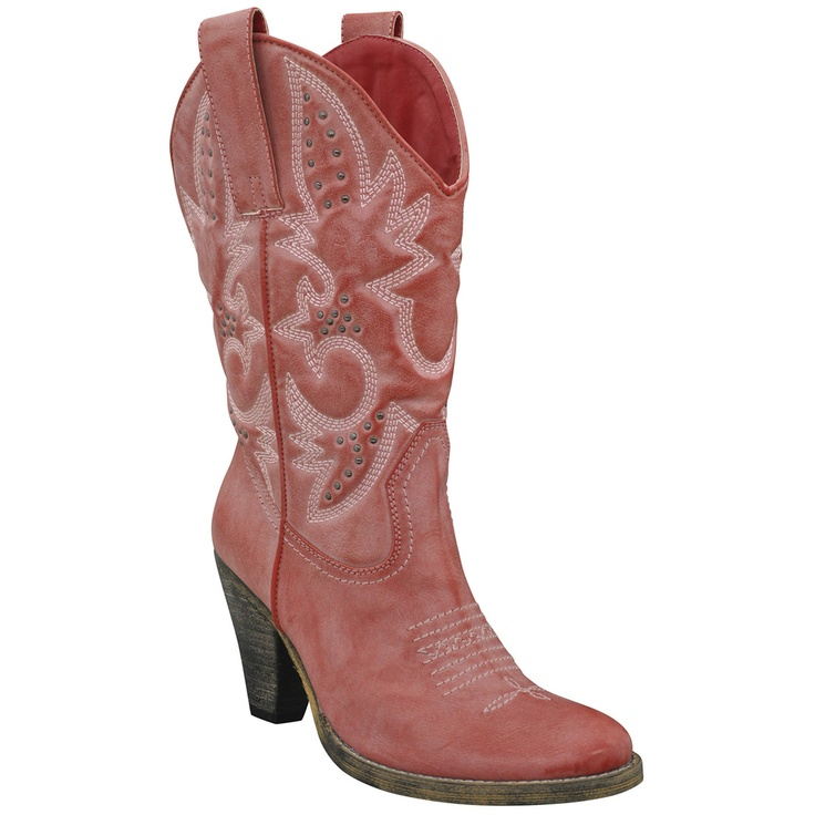 Denver Boot Red