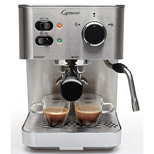 276 best coffee machines images on pinterest coffee machines capresso 11805 ec pro espresso and cappuccino machine commute coffee fandeluxe Gallery