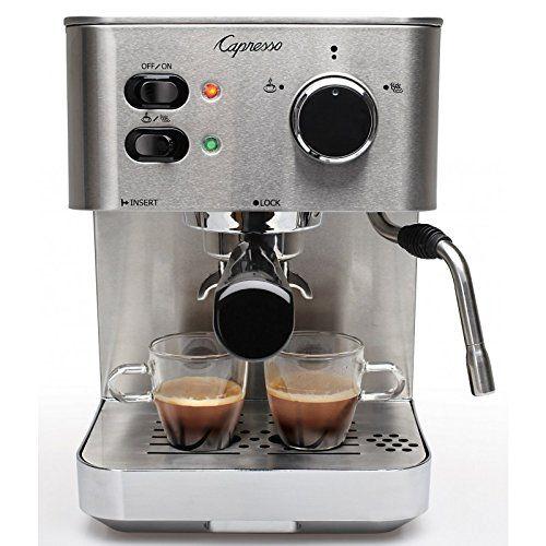 Reviewed: Capresso 118.05 EC Pro Espresso & Cappuccino Machine