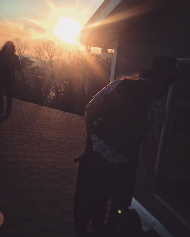 Another shot from yesterday's rooftop shoot @joshsawyou @calebjohnson #tour #artist #asheville #beautiful #sunset #photoshoot #southerngroundtour #caleb #comingsoon #behindthescenes #musicvideo