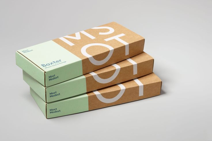 Most Modest — Visual Identity & Packaging System — http://monikersf.com/view/work/most-modest