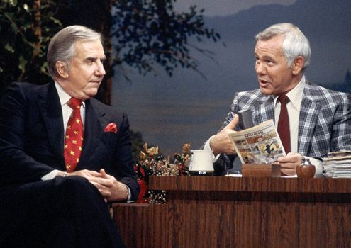 The Johnny Carson Show. I watched this with my grandparents all the time