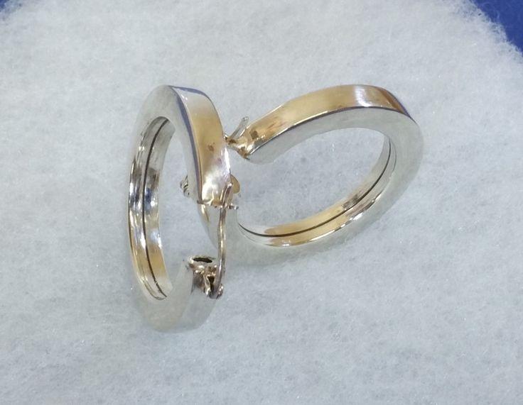Vintage Ohrhänger - Creolen Ohrringe 925 Silber Sezgin Vintage SO252 - ein Designerstück von Atelier-Regina bei DaWanda