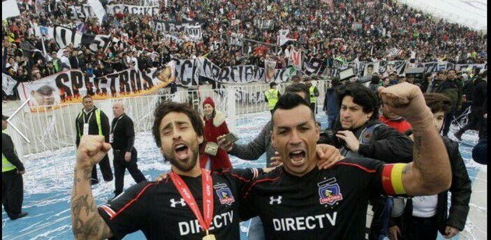 El Mago Valdivia y Esteban Paredes