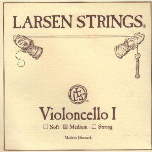 Larsen Cello A String - 4/4 size - Medium Gauge by Larsen. $37.42. Now Available in Fractional Sizes! Larsen Cello A string alloy wound with steel core
