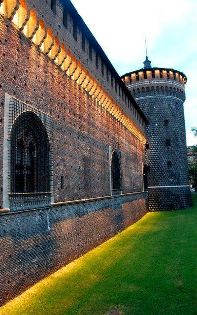 Castello Sforzesco ♦ Milan, Lombardy, Italy | Flickr - Photo by zoltan.sylvester #Expo2015