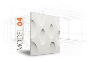 LOFT 3D-paneeli, malli 04 www.dekotuote.fi