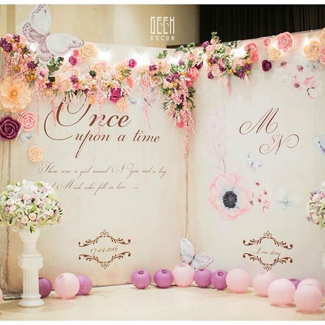 5 Gorgeous Trendy Wedding Themes For 2020: Beautiful Backdrop #weddingday #weddingstyle #savethedate