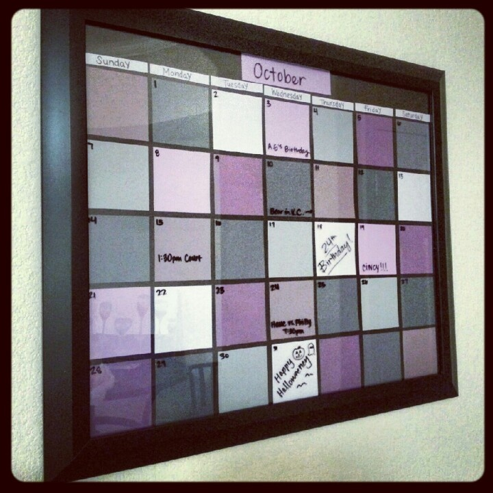 Diy Picture Frame Calendar : Best picture frame calendar ideas on pinterest dry