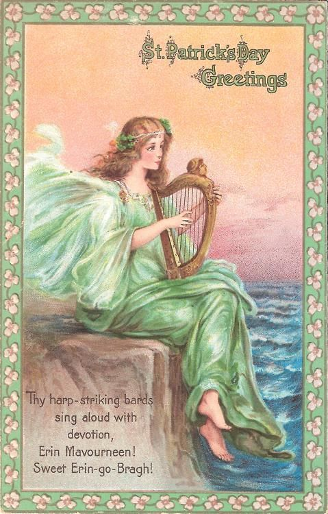 534 best erin go bragh holiday images on pinterest st celebration with another post card from rosannas collection thy harp striking bards sing aloud with devotion erin mavourneen sweet erin go bragh m4hsunfo