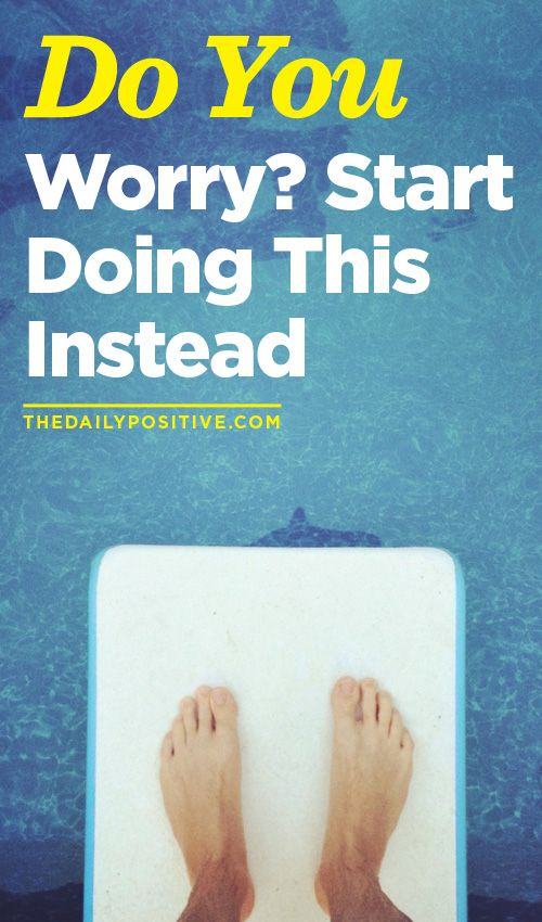 """""""Do you worry? Start doing this instead."""" Routines, ideas, activities and worksheets to support your self-care. Tools that work well with motivation and inspirational quotes. For more great inspiration follow us at 1StrongWoman."""