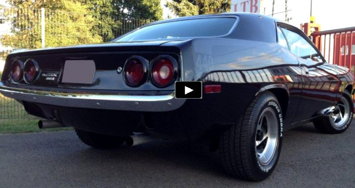 Stunning 1974 Plymouth Barracuda 440 in Black