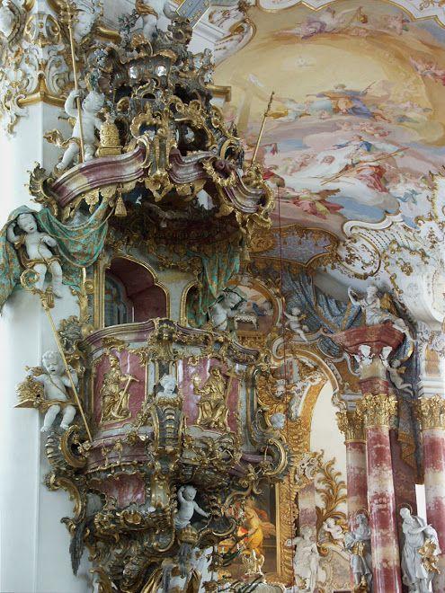 Iglesia de Wies, Alemania(1745-1754)