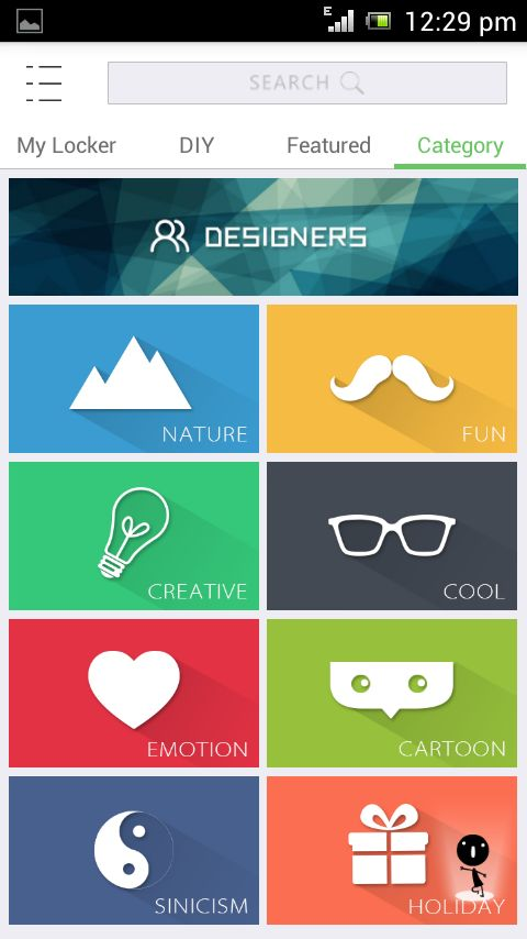 Locker Master Android App A Stylish One For Security, a good try one