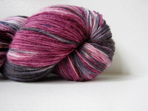 Hand Dyed MCN Fingering Sock Yarn  Vernon by CakewalkYarns on Etsy, $27.00: Dyed Mcn, Mcn Fingering, Yarn Vernon