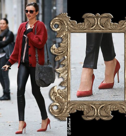 red manolo blahnik heels