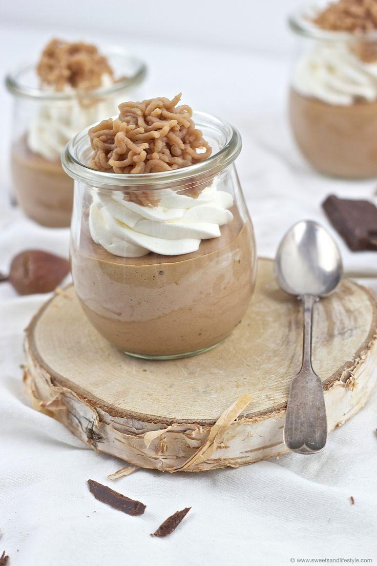 Koestliches Schoko Maroni Mousse nach einem Rezept von Sweets and Lifestyle