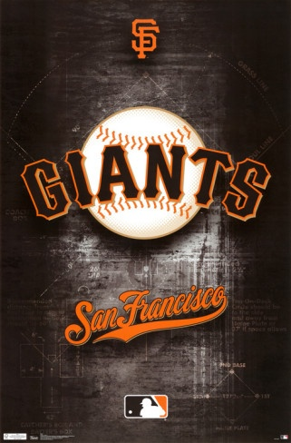 San Francisco Giants Logo 2011 Poster
