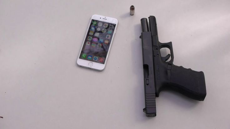 What Happen When u Shoot an IPHONE 6 with GUN