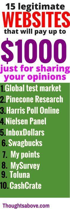 Make Money online answering surveys Earnings – Making Money Online