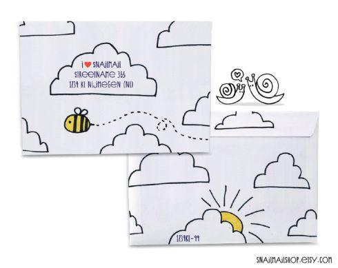 Best Crafty Envelopes Images On   Envelopes