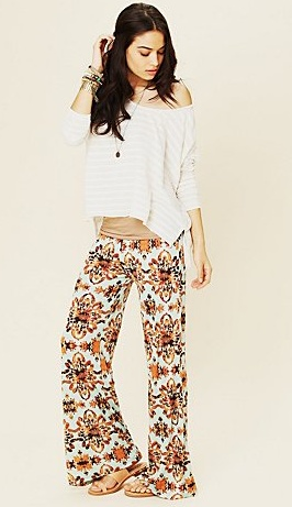 FREE PEOPLE. This is just simple loungewear to me but it' still adorable.
