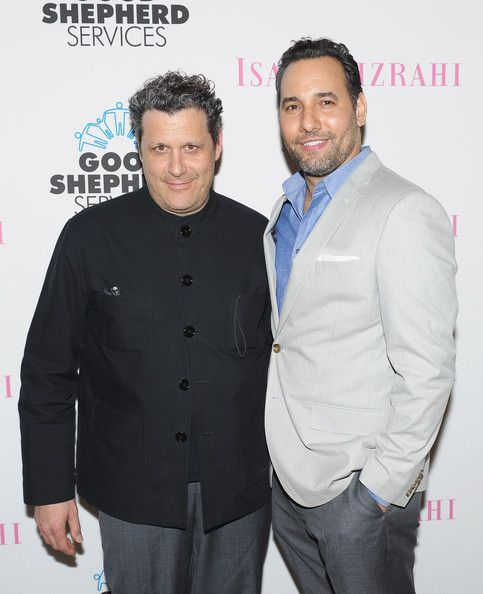 The Jewish designer presented his first collection in 1987 and has been a celebrity favorite ever since. Mizrahi married Arnold Germer, his partner of 6 years, in 2011 in New York City Hall.