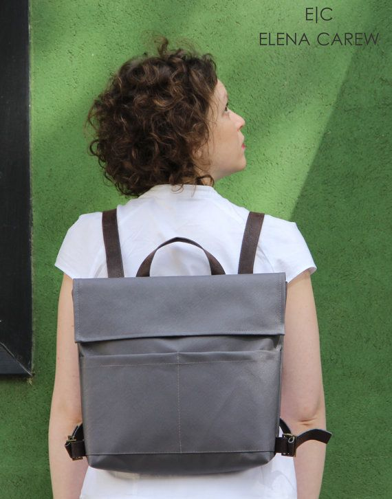 Grey Backpack, Unique backpacks, Backpack bag, Military Rucksack, Laptop Backpack, Work backpack