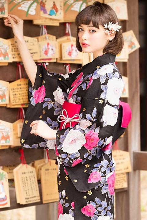 INGNI(イング)牡丹/浴衣