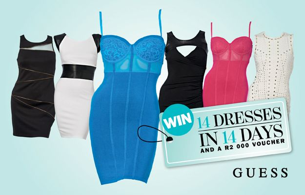 WIN 14 GUESS Dresses in 14 Days!