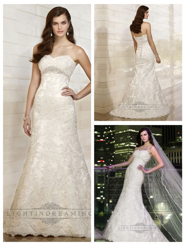 Sweetheart A-line Beading Lace Appliques Wedding Dresses with Beading   Belt http://www.ckdress.com/sweetheart-aline-beading-lace-appliques-wedding-  dresses-with-beading-belt-p-510.html  #wedding #dresses #dress #lightindream #lightindreaming #wed #clothing   #gown #weddingdresses #dressesonline #dressonline #bride