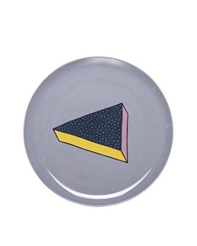 BITOSSI HOME Pizzateller Cm. 31 blau/gelb