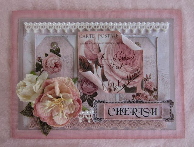 Meg's Garden: 'Cherish' with Rose Quartz by Katrina Thompson