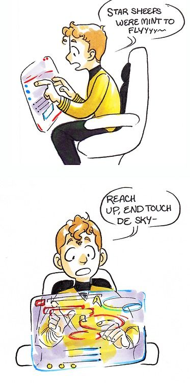 "Star Trek's Chekov singing ""Starships"" by Nikki Minaj (by fabledquill, via Tumblr) -- I will only hear this song in this accent from now on"