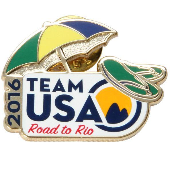 Team USA Umbrella Rio Lapel Pin - $3.99