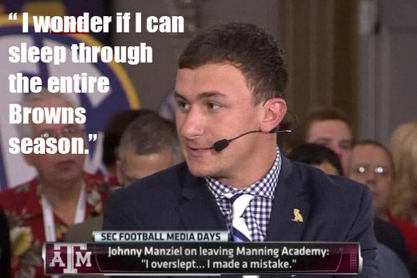 Johnny Manziel Meme