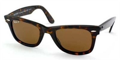 Ray Ban Wayfarer Polarized Sunglasses RB 2140 902-57