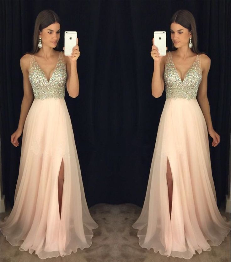 1000  ideas about Long Prom Dresses on Pinterest - Ball dresses ...