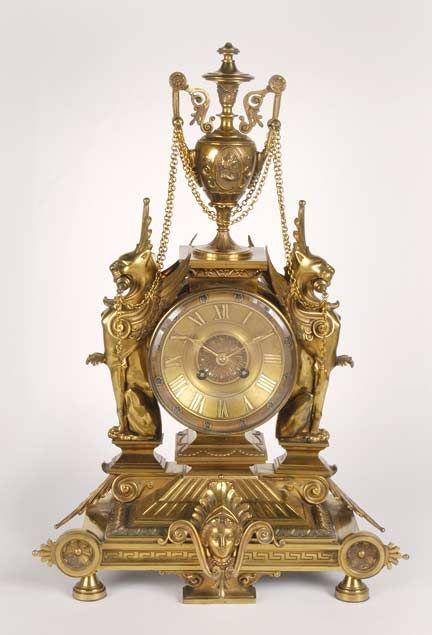 Italianate, Renaissance Revival: decorative clock