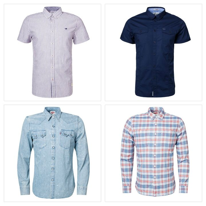 #Sale up to #50% #online #onlinestore #sale #levis #pepejeans #shirt #men #mencollection