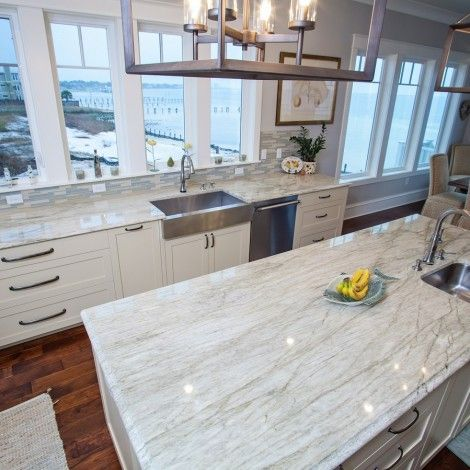 Exceptional Aqua Venato Quartzite Kitchen Countertops Http://www.superiorgranite.com/ #