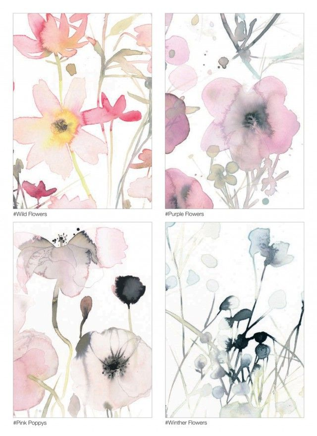 10 Flower cards - Toril Bækmark -  Nordic Design Collective - Tent  London 22-25 September