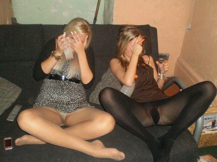 Пьяные бабы в колготках фото