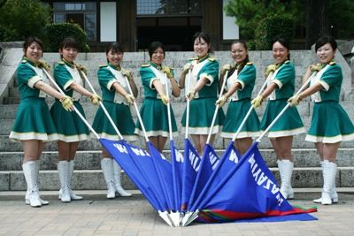 Color Guard Flags | カラーガード隊 (Color Guards Team)Japanese color guard!