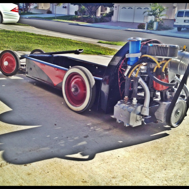 Vw Rat Rod Radio Flyer Wagon