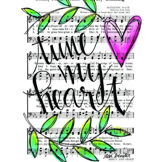 83 Best + Hymns & Songs--Bible Journaling Images On